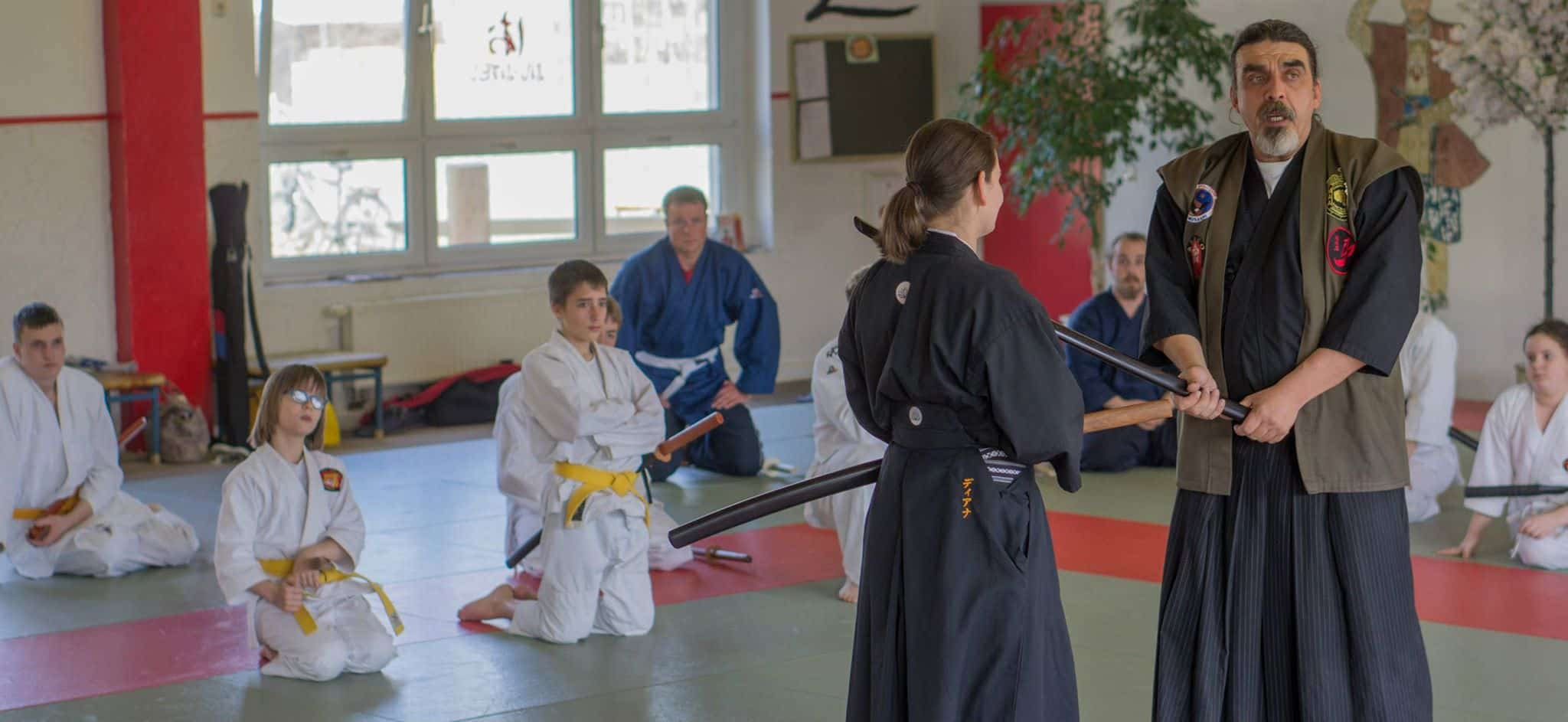 Days Of the Sword Seminar Gohshinkan Ryu Dojo traditionelle Kampfkunst, Schwertkunst und Selbstverteidigung Impressionen aus dem Training